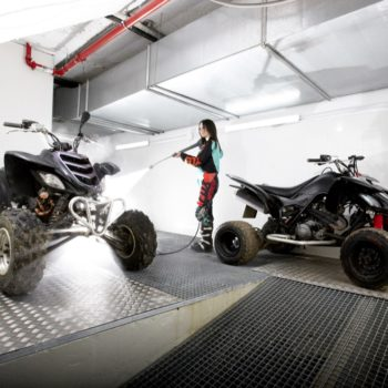 Lavado de motos-quads